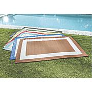 bright border indoor outdoor rug