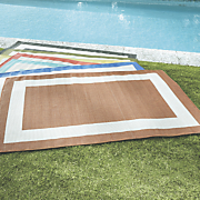 bright border indoor outdoor rug