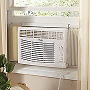 5 000 btu window a c unit with mechanical controls by haier