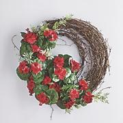 geranium wreath 40