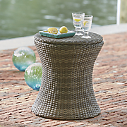 wicker table cooler