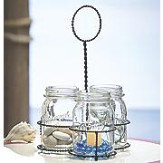 mason jar caddy