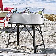 metal beverage stand
