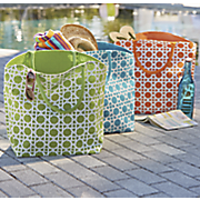 Lattice Pattern Jute Bag