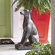 dog statue 57