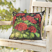 geranium pillow
