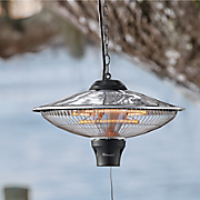electric hanging outdoor heater