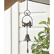 cast iron hanging bell