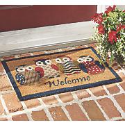 owl welcome mat