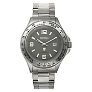 men s watch with gray face by croton
