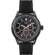 Men's Ameritus Watch with Black Silicone Strap by Timex