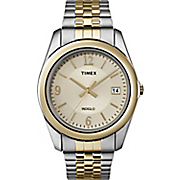 Men's Two-Tone Dress Watch by Timex