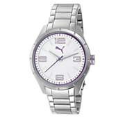 women s white face watch by puma