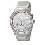 men s chrono watch with gray face by puma