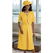 Loren Hat and Jacket Dress