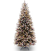 7.5 Ft Dunhill Snow Fir Slim Tree