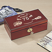 personalized lacrosse keepsake box
