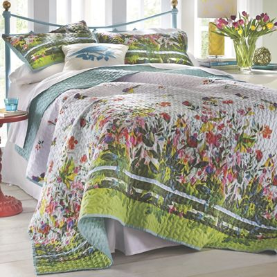 Tropical Day Quilt and Sham