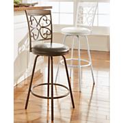 set of 2 garrison swivel stools