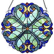 Mini Halston Stained Glass Panel