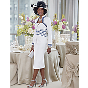 Xaviera Hat and Skirt Suit