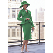verdi 3 pc  skirt suit