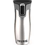 stainless steel contigo travel mug by keurig