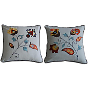 andorra set of 2 decorative pillows
