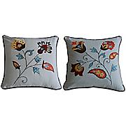 andorra set of 2 decorative pillows