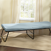 twin foldaway memory foam guest bed by simmons beautyrest