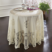 vintage chic tablecloth