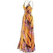 hawaiian sunset maxi dress 2