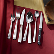 42 pc  boylston flatware set