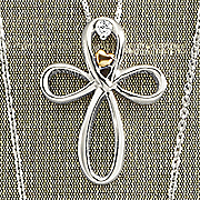 arms of love diamond cross pendant by leeza gibbons