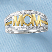 diamond two tone mom band
