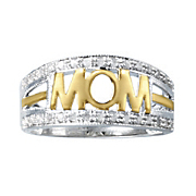 diamond two tone mom band