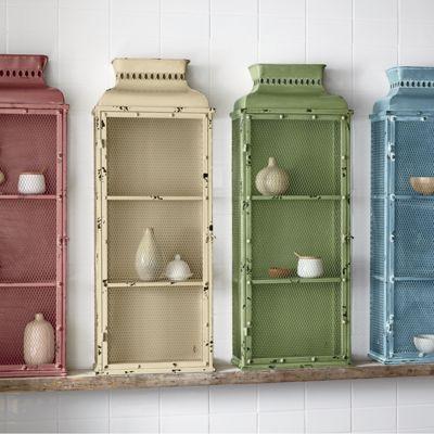Rustic Colored Medicine Cabinet