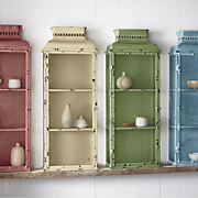rustic colored medicine cabinet