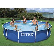 metal frame pool by intex