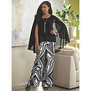 Faye Top and Wide Leg Pant