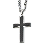 stainless steel cross necklace 2
