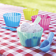 9 pc  color changing ice cream set