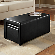 padded storage coffee table