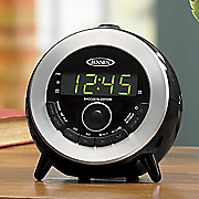 dual alarm projection clock by jensen