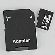 64 gb microsd memory card with adapter