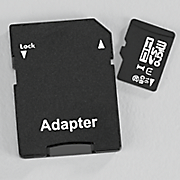 16 gb microsd memory card with adapter