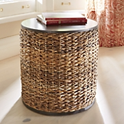 seagrass end table 26