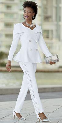 Alisa Linen Jacket and Pant
