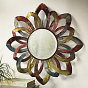 floral wall mirror 4