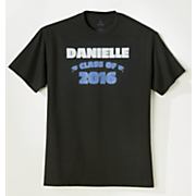 2016 personalized graduation tee